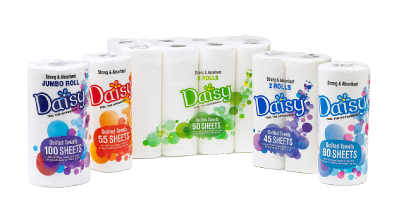 Daisy brand paper towels